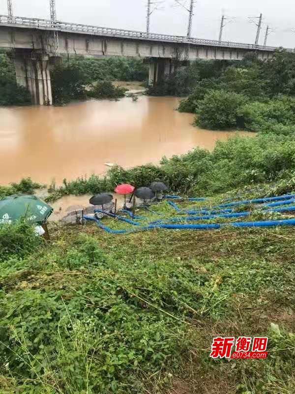 入汛最大洪峰考验珠晖 全区启动防汛Ⅱ级应急响应