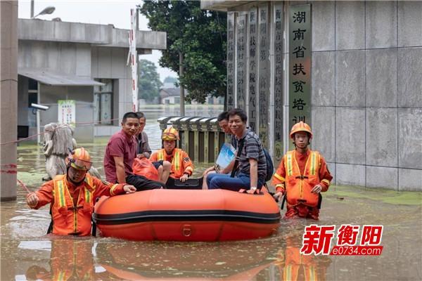 抗洪救援進行時 雁峰區全力保障群眾生命財產安全