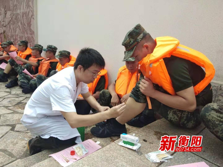 衡阳疾控卫生应急队奔赴一线 严防灾后传染病流行