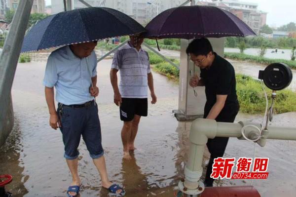 衡陽市組織農技專家隊搶抓時機指導群眾救災補損