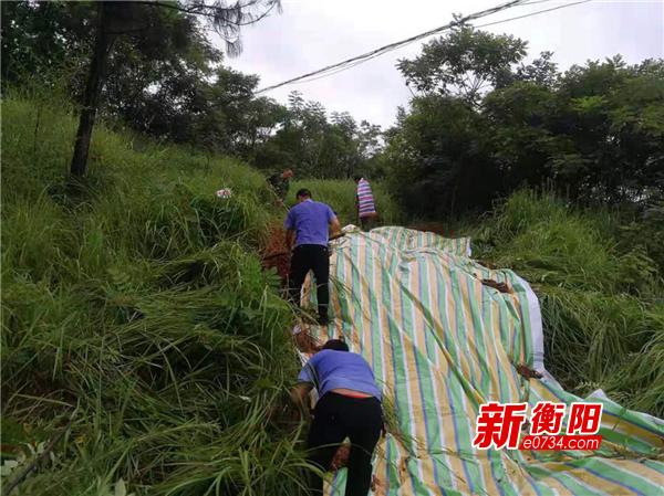 强降雨致栗江镇21处山体滑坡 紧急转移85人