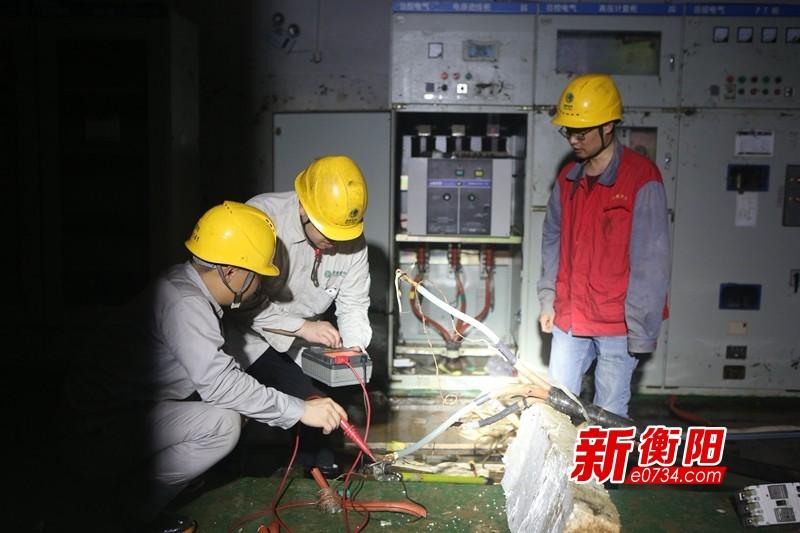 两天三夜抢修!耀江花园1160户居民恢复用电
