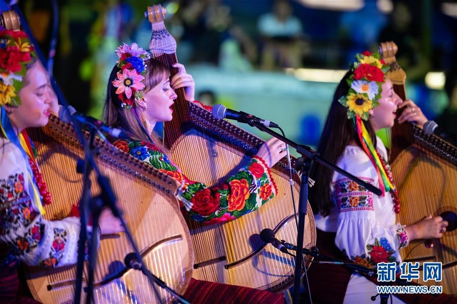 澳門舉行國際青年音樂節戶外演出