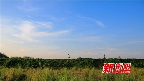 天蓝山清水碧 南岳区的盛夏风景不与四时同