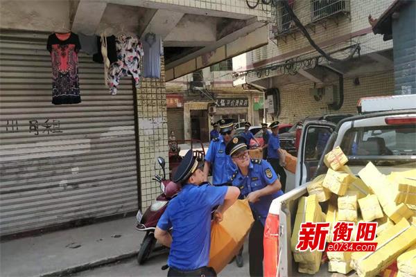 """蒸湘区红湘街道""""四措并举""""助力平安清爽中元节"""
