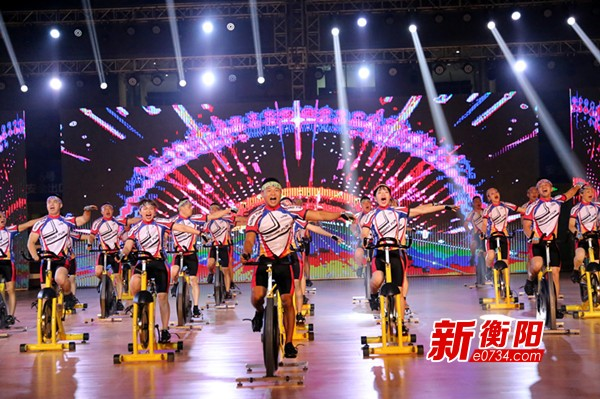 """衡阳举行丰富多彩的""""全民健身日""""体育展示活动"""