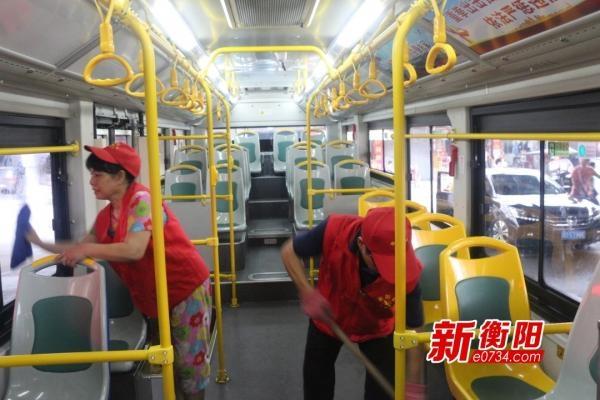 """""""衡阳群众""""有你最美:流动的公交车不变的""""小美好"""""""