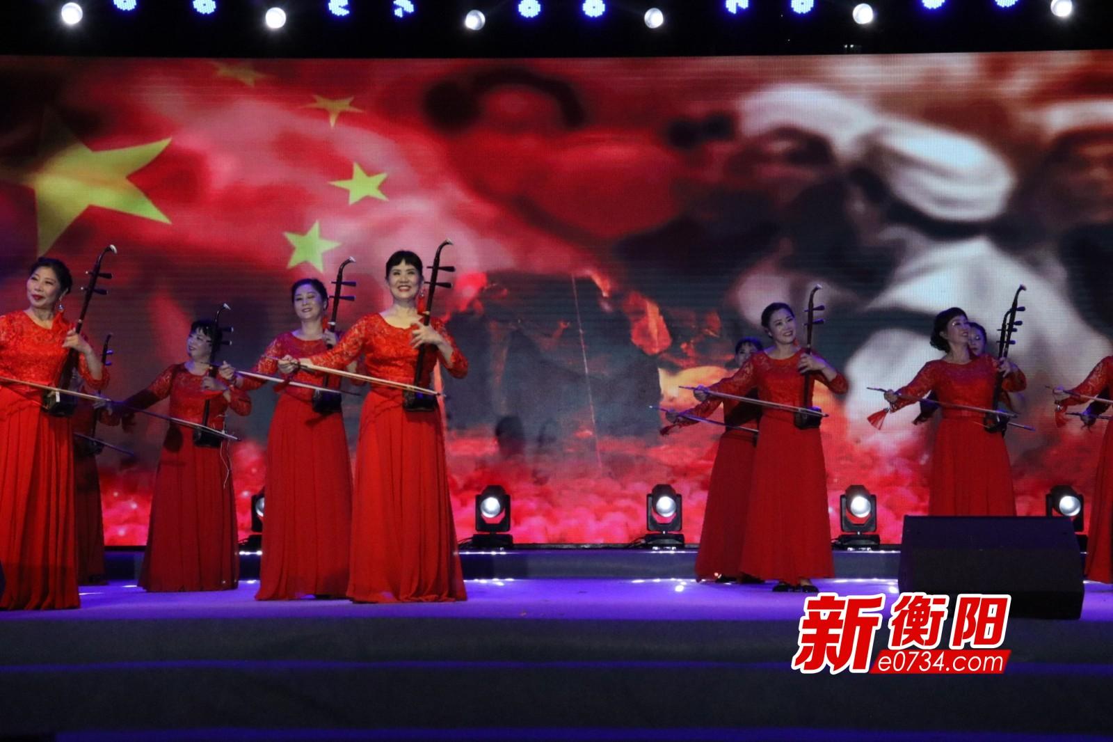 """""""旬旬演·周周乐"""":红色专场""""衡阳群众""""唱主角"""