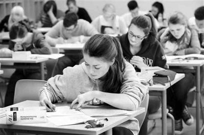 高中毕业考试就是大学敲门砖 德国高考看平时
