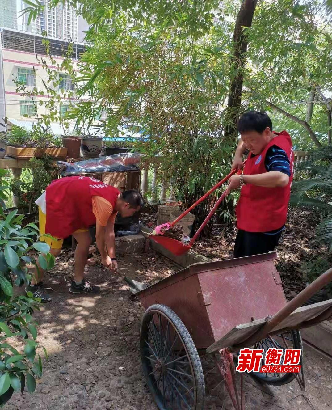 """市疾控中心""""衡阳群众""""入社区开展志愿者服务活动"""