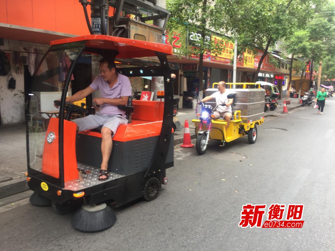 青山街道提升环卫机械化作业水平 提高城区保洁效能