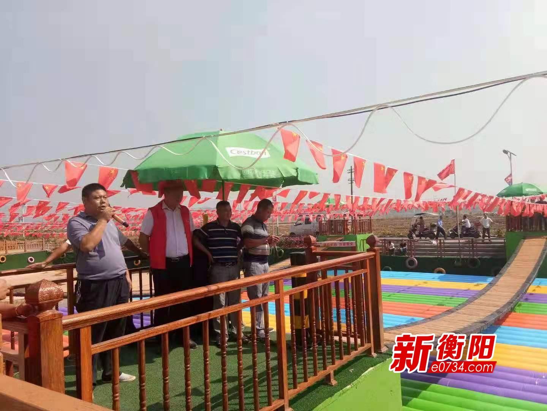 """假期去哪儿:石鼓区灵官庙村""""网红桥""""尽情摇摆吧!"""