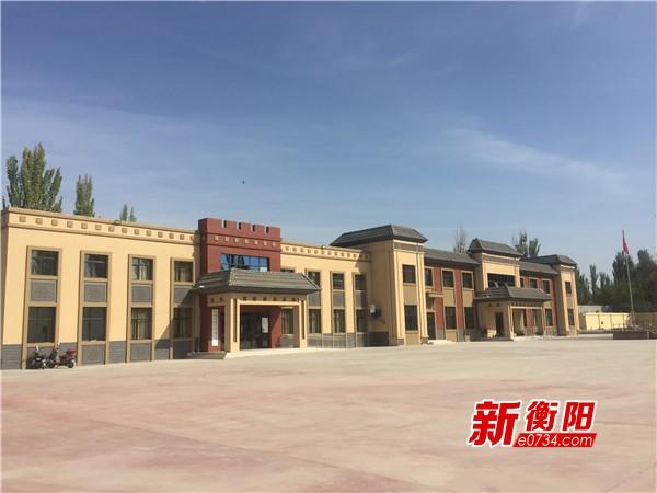 援疆进行时:建设加速度!帮助塔吾村建起文化服务中心