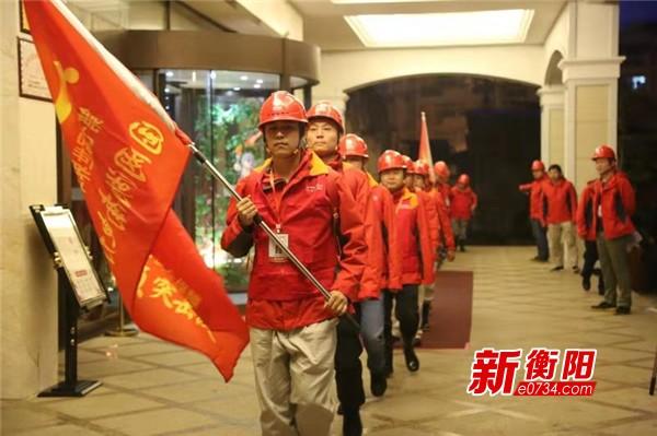 国网湖南电力军运会保电队正式入驻 确保赛事用电