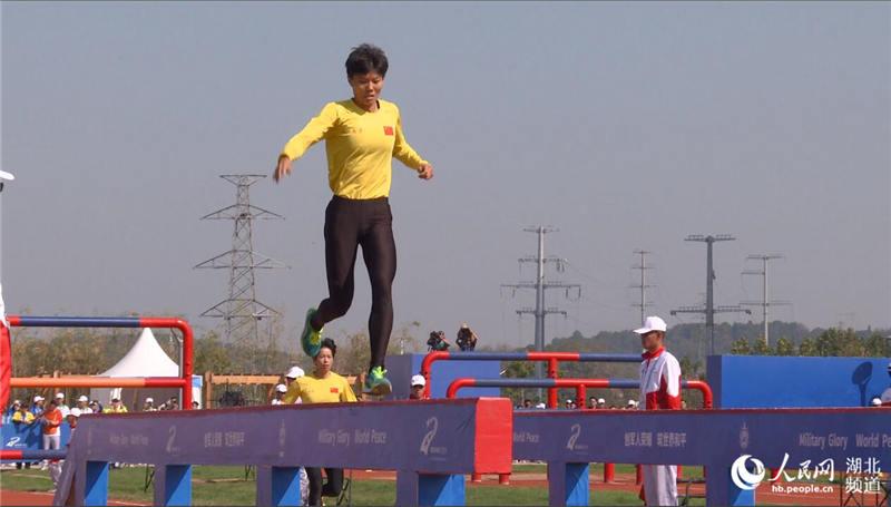 中國選手打破軍事五項女子個人全能障礙賽跑世界紀錄
