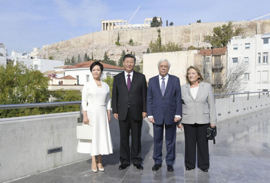 """习近平在雅典:赴一场""""文明之约"""""""