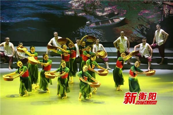 衡陽市雁峰區原創群舞《東洲漁歌》喜獲省特等獎