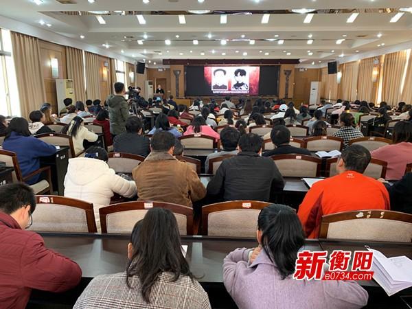 衡阳市开展红色故事汇进高校活动 传承红色基因