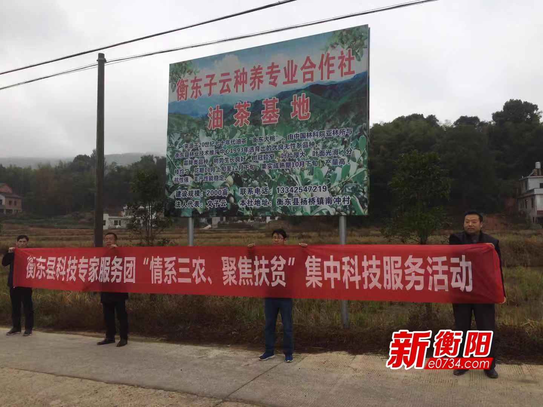 """衡东县科技专家服务团集中""""开班"""" 助推乡村振兴"""