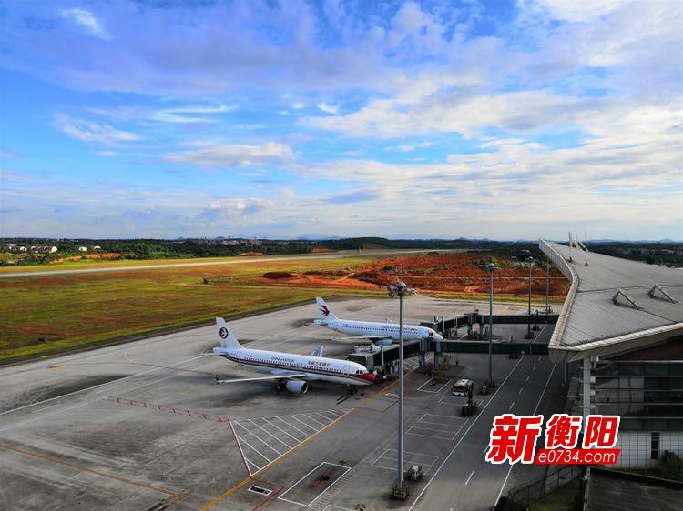 衡陽南岳機場2019年旅客吞吐量1102857人次