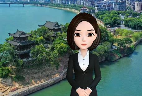"""""""媒體大腦""""首次走進衡陽 AI主播小e帶你看""""兩會"""""""