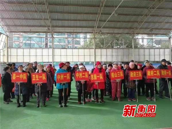 """衡阳县举行老年门球赛 89岁""""资深""""球手风采不减"""