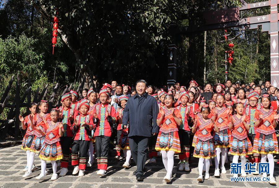 習近平春節前赴云南看望慰問各族干部群眾 向全國各族人民致以新春祝福