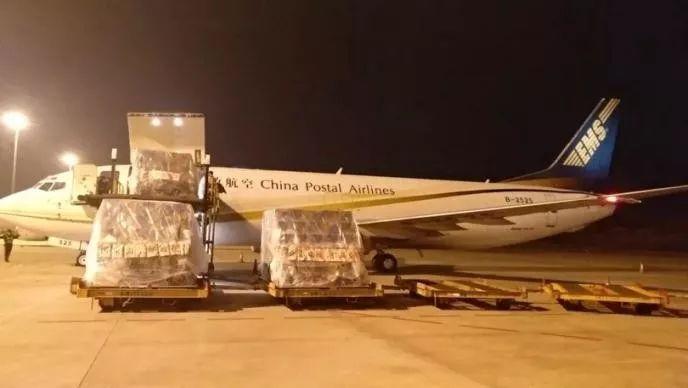 緊急調度 | 物流保障辦協調2架專機運送29.8噸防疫物資抵漢