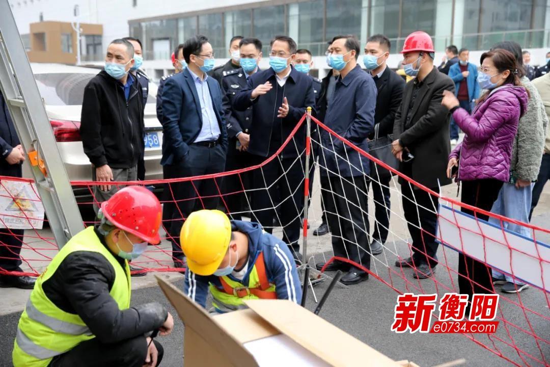 """奋战一百天  确保衡阳""""雪亮工程""""6月底前基本建设完成"""