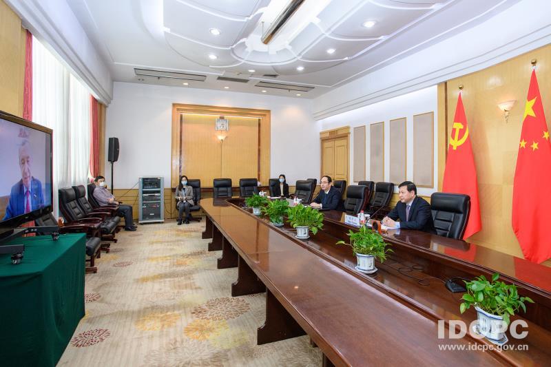 中俄执政党首次视频连线是为了这件事