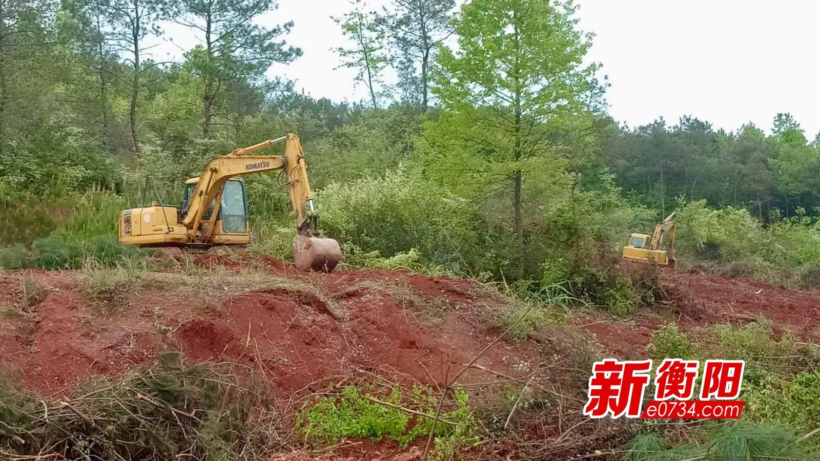 白地市(彭家湾)220千伏变电站项目正在进行土建施工(摄影:王境彪).jpg