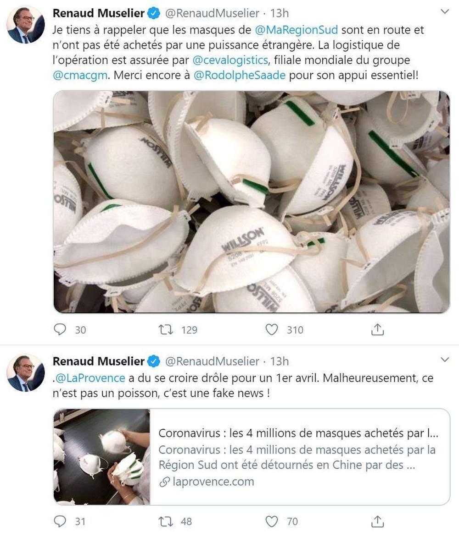 中国企业将卖给法国的口罩⊙转手卖给美国?假消息!