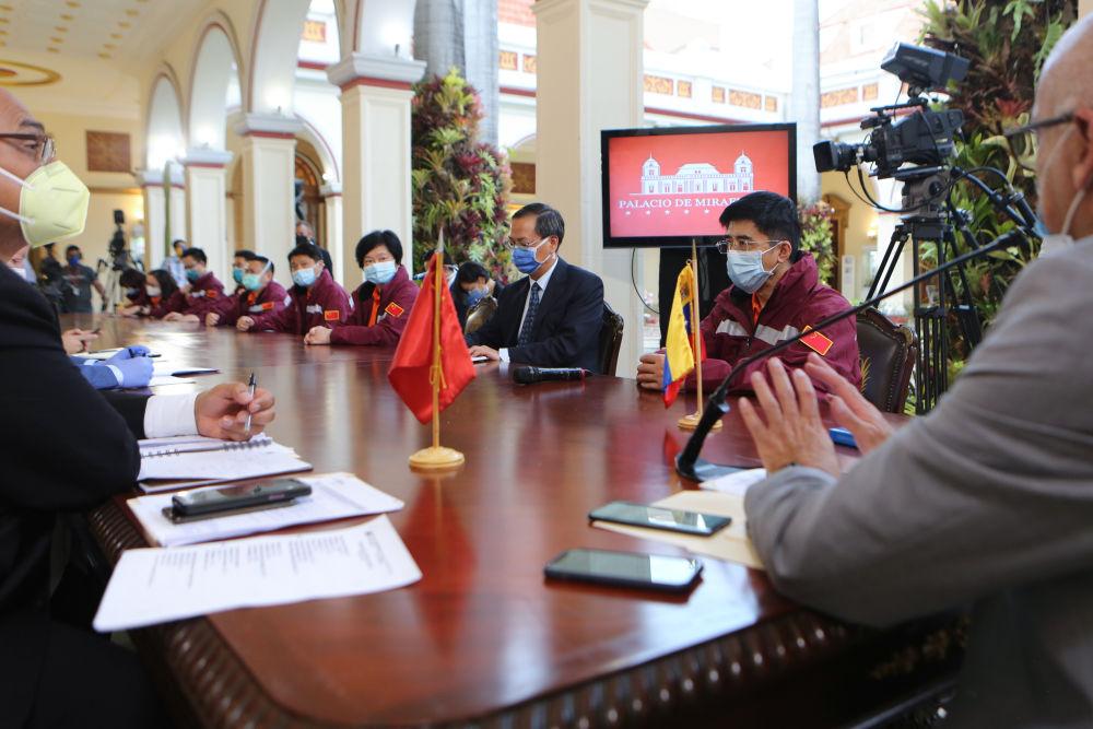 獨家 | 中國專家組:委內瑞拉借鑒中國抗疫模式取得積極成效