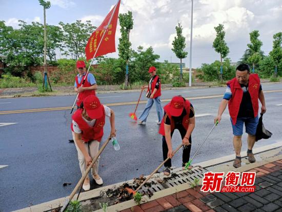 """衡阳市农业技术服务中心开展""""衡阳群众在行动""""主题党日活动"""