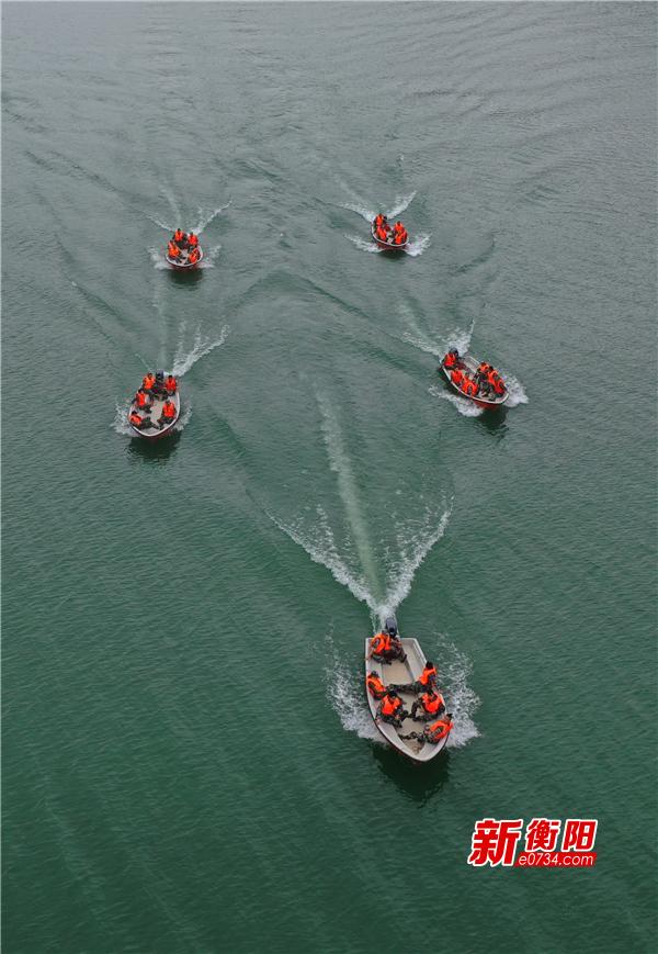 雁峰区开展防汛应急救援演练  提高防汛抗洪应急处突能力