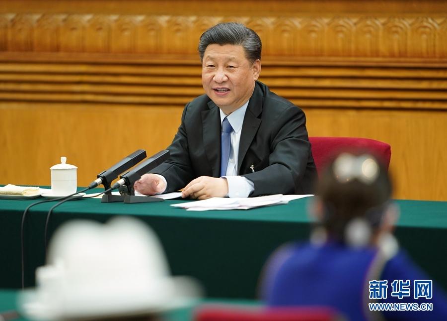 """特写:""""这位代表的话让我印象深刻""""——习近平总书记在内蒙古代表团谈人民至上"""