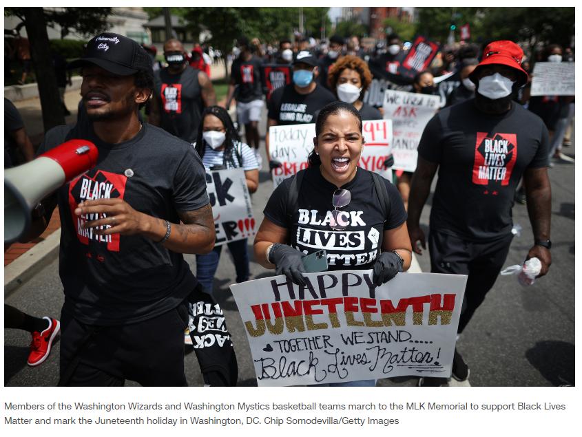 """双语bilingual: 美国""""Black Lives Matter""""背后:社会公正与人权平等是伪命题!"""