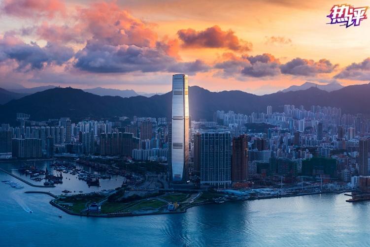 """热评丨香港国安法开创""""一国两制""""光明前景"""