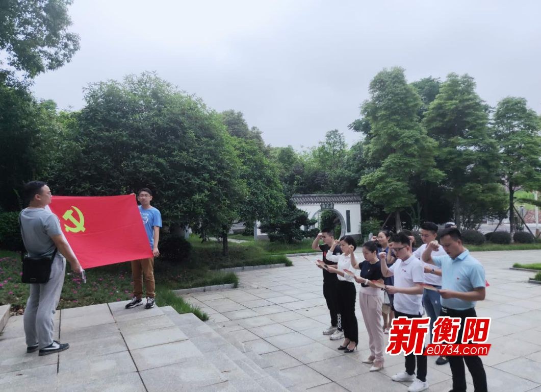 """庆祝党的生日 蒸湘区开展丰富多彩庆""""七一""""主题党日活动"""