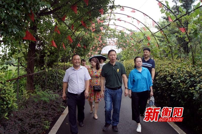 """决胜2020:衡阳蒸湘区委统战部绘就美丽乡村""""同心圆"""""""