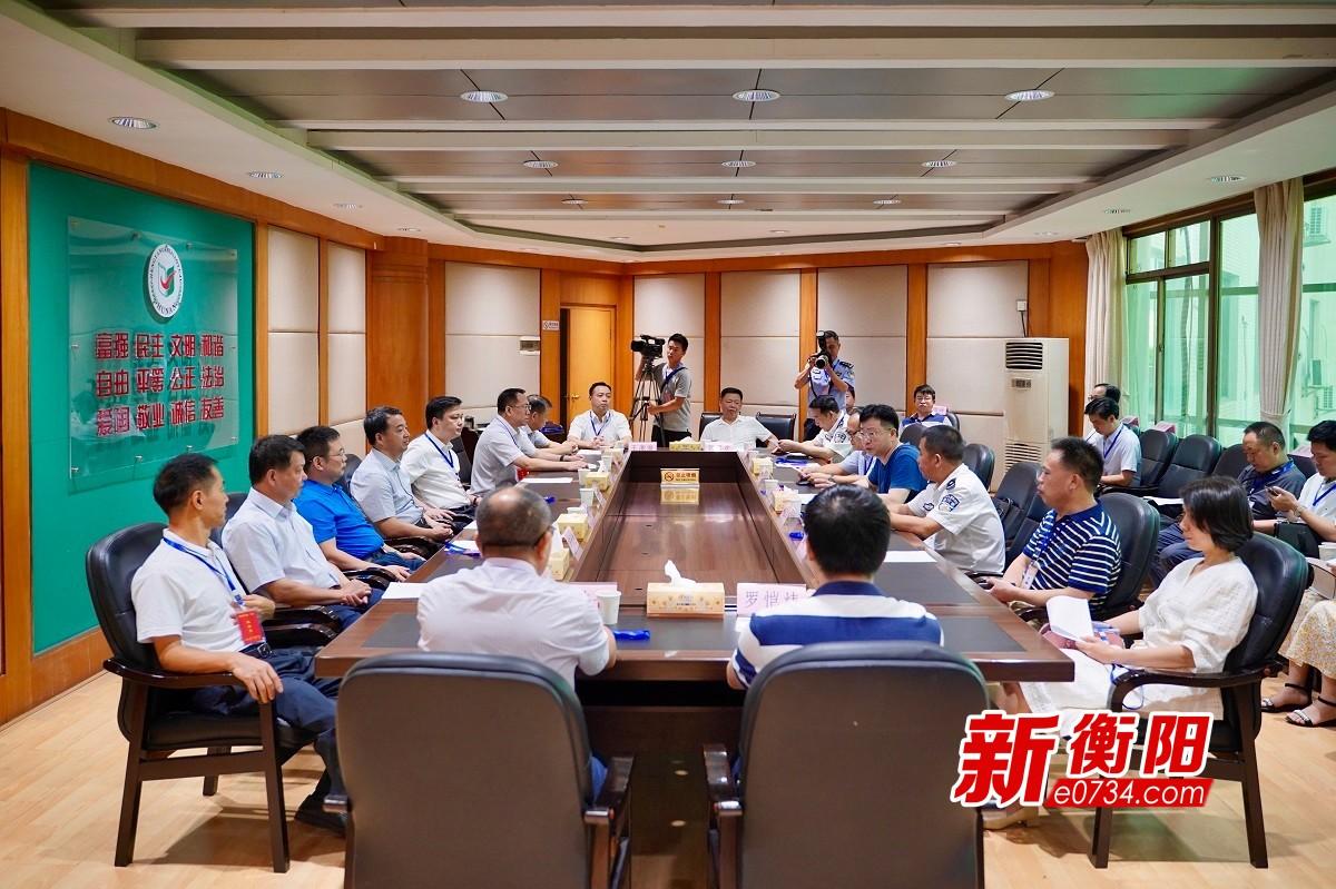 2020高考:王建林、廖健赴衡阳城区部分高考考点巡考