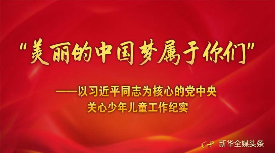 """""""美丽的中国梦属于你们"""""""